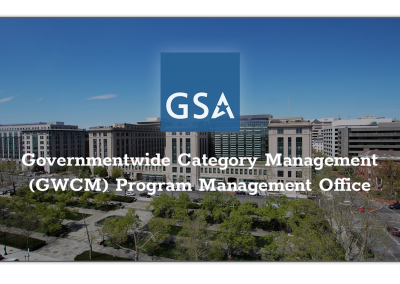 GSA Governmentwide Category Management (GWCM) Program Management Office